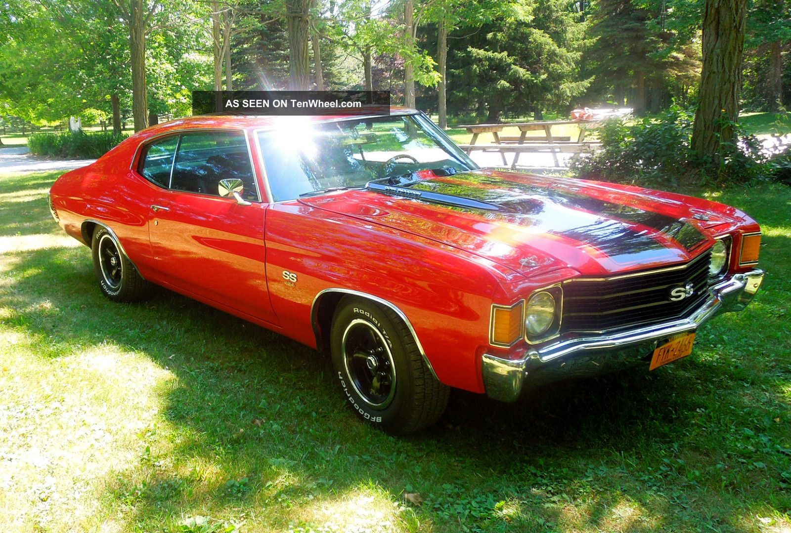 Freashly 1972 Chevelle Ss454 Tribute
