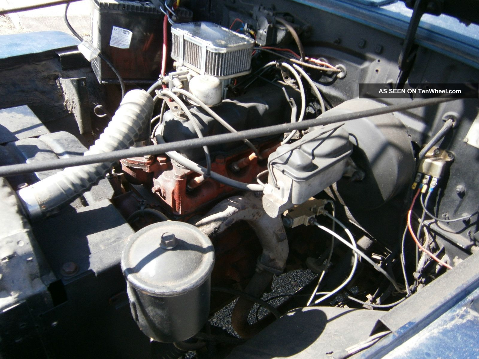 1953 Willys Jeep Truck Electrical Wiring