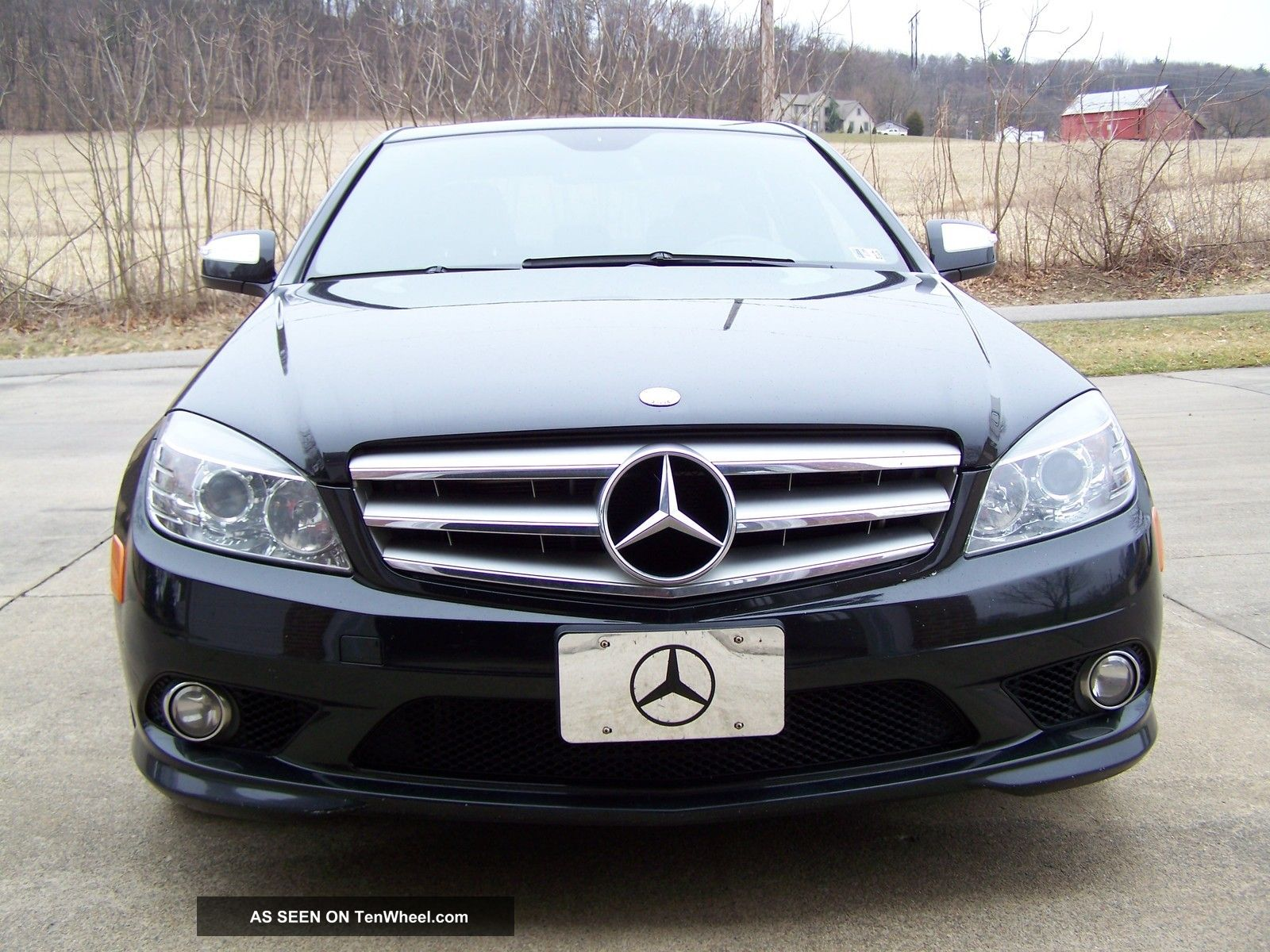 2008 mercedes benz c300 4matic sport sedan 4 door 3 0l