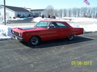 1967 Plymouth Satellite 440 With Hurst 18 Spline Hemi 4 Speed photo