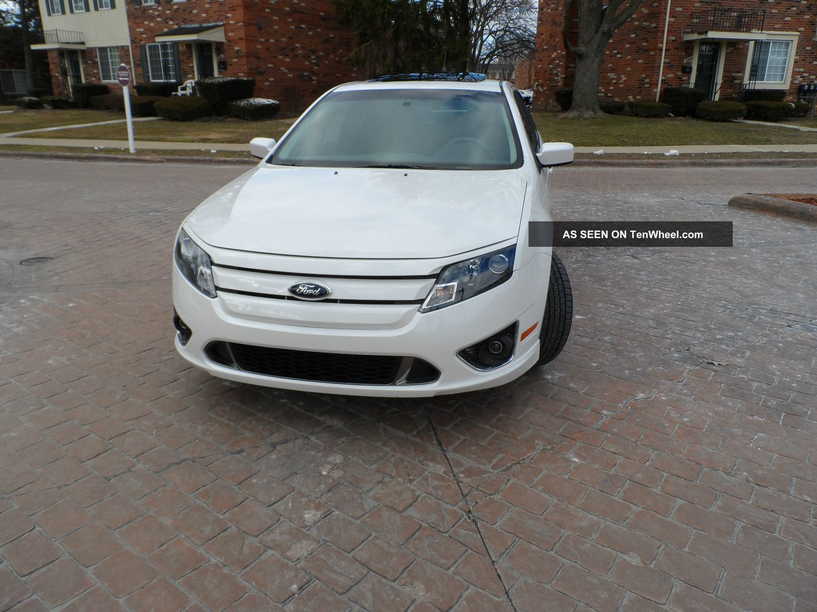 2013 Ford Fusion 4 Door Sedan S Fwd
