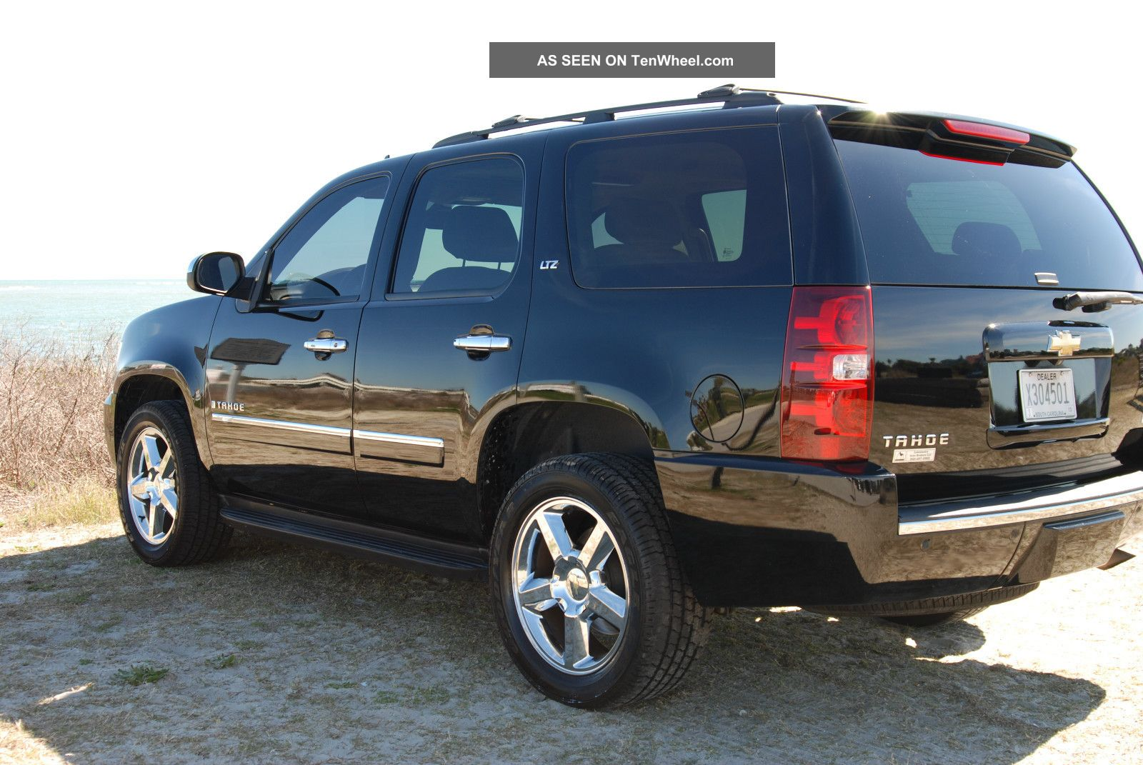 Awesome Black Fully Loaded 2009 Chevrolet Tahoe Ltz