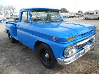 64 65 1966 Gmc 2500 / Chevy C20,  Fun To Drive Truck.  California photo