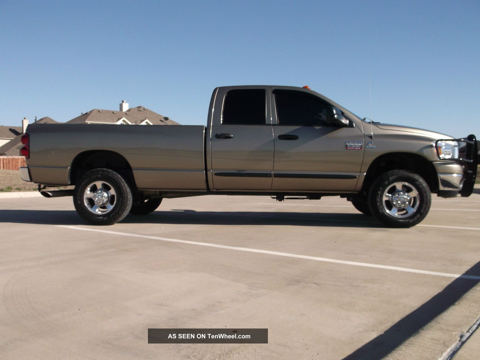 2007 dodge ram 2500 slt crew cab pickup 4 door 6 7l diesel. Black Bedroom Furniture Sets. Home Design Ideas