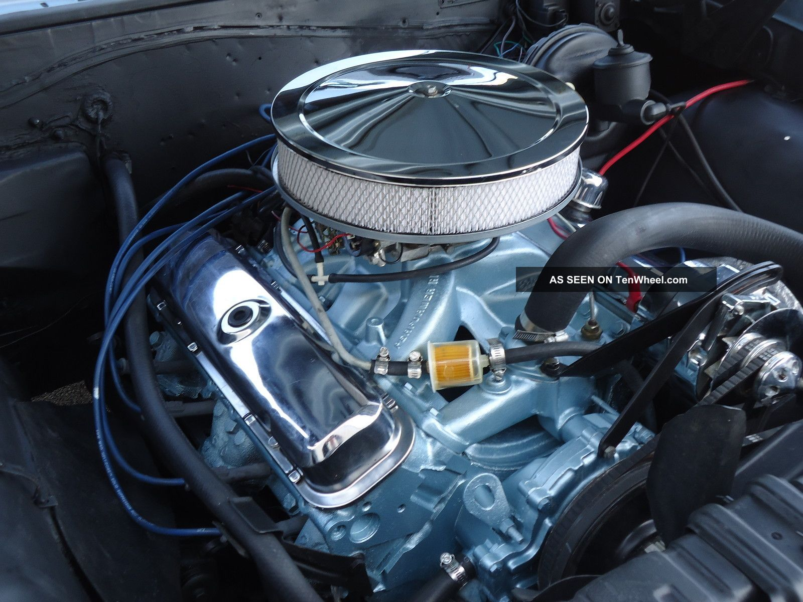 1966 Pontiac 389 Engine Pictures To Pin On Pinterest