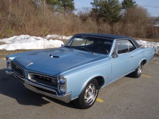 1966 Pontiac Gto 389 / 335 Hp Automatic Power Steering Power Brakes Phs Documented photo