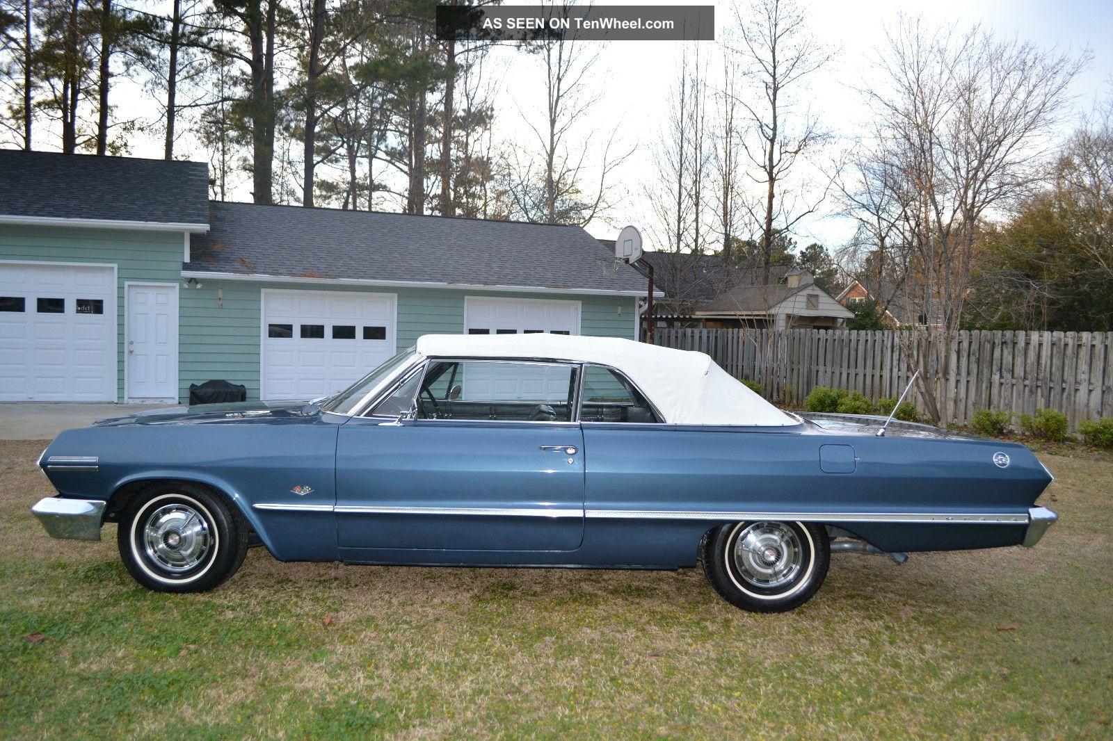 1963 chevrolet impala ss convertible