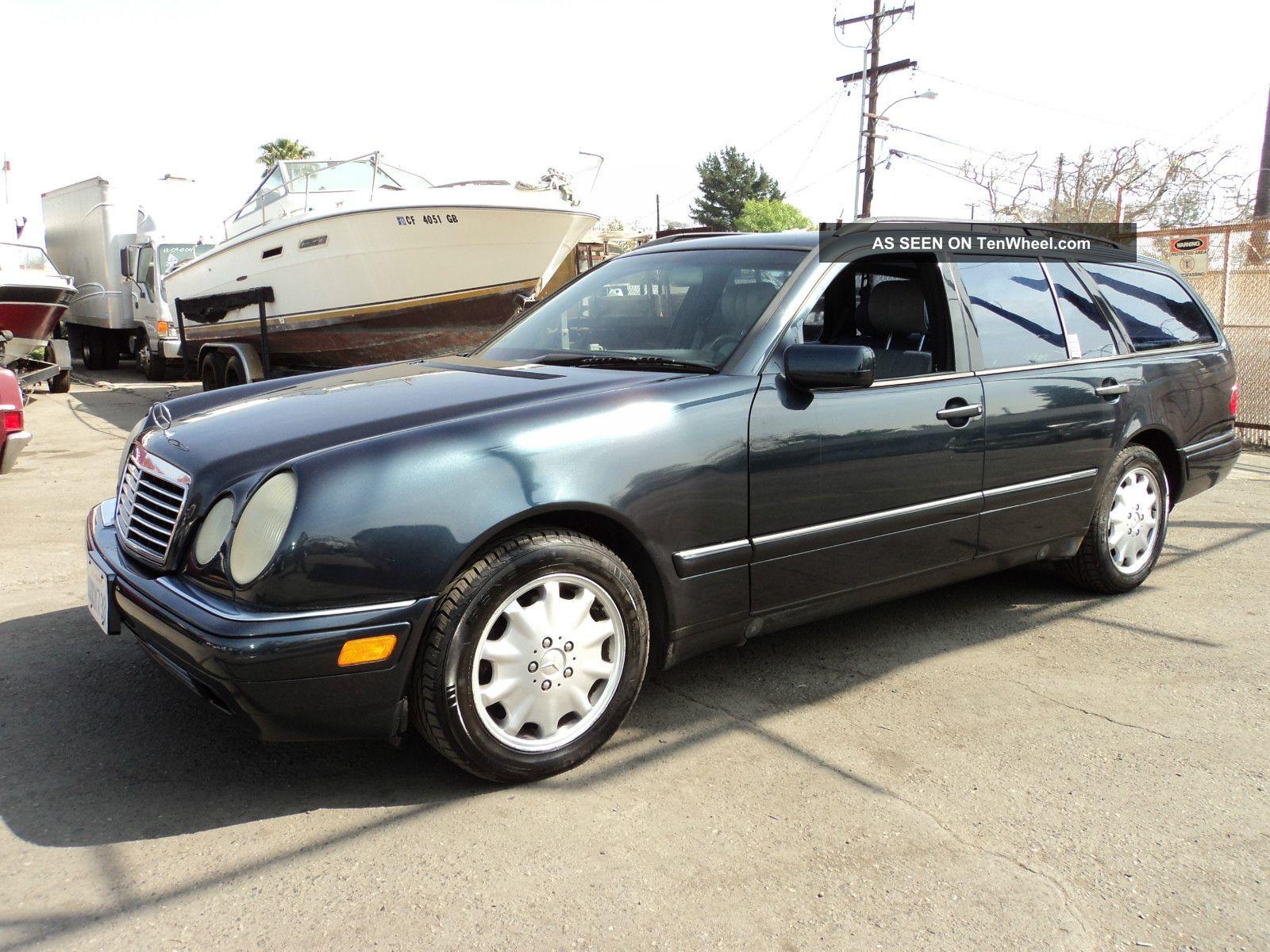 1998 mercedes benz e320 base wagon 4 door 3 2l. Black Bedroom Furniture Sets. Home Design Ideas