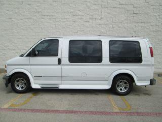1998 Gmc Savana 1500 Regency Custom White Van,  5.  7l V / 8,  Auto. ,  Well Maintained photo