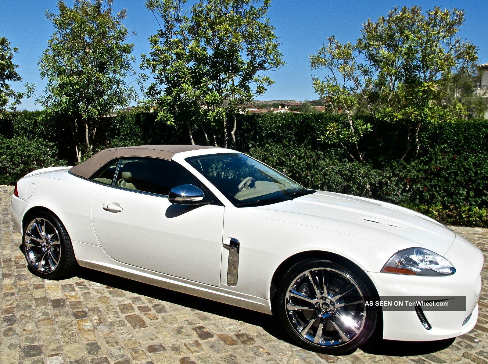 2010 Jaguar Xkr Convertible 5 0l W Walnut Burlwood Trim