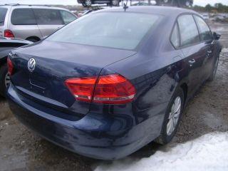 2012 Volkswagen Passat S Sedan 4 - Door 2.  5l Lot Drives Needs Body Work photo