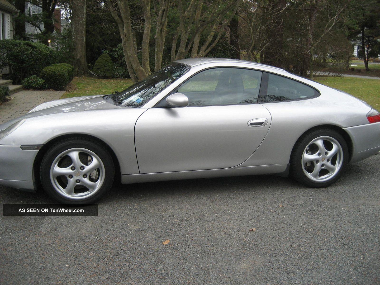 porsche 911 carrera 4 coupe tiptronic 1999 silver porsche carrera c4. Black Bedroom Furniture Sets. Home Design Ideas