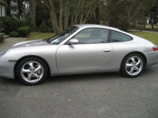 Porsche: 911 Carrera 4 Coupe Tiptronic 1999 Silver Porsche Carrera C4 photo