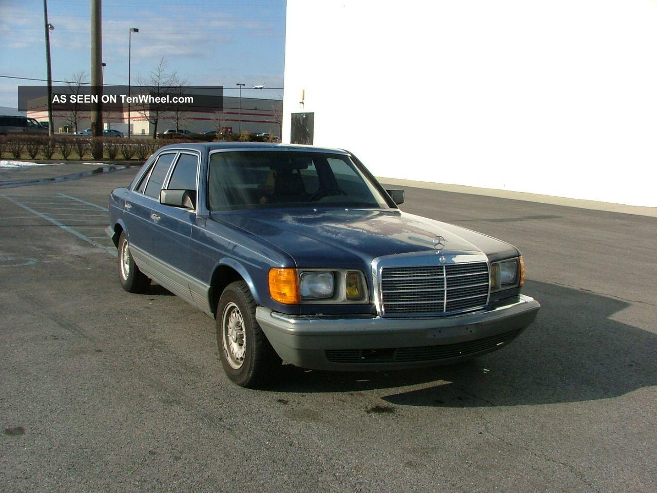 1985 mercedes benz 380se for 1985 mercedes benz