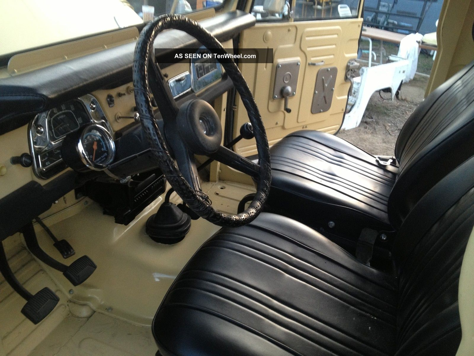 1973 Toyota Land Cruiser Fj40 Chromed Out Stunner Power Brakes 4 Speed V8