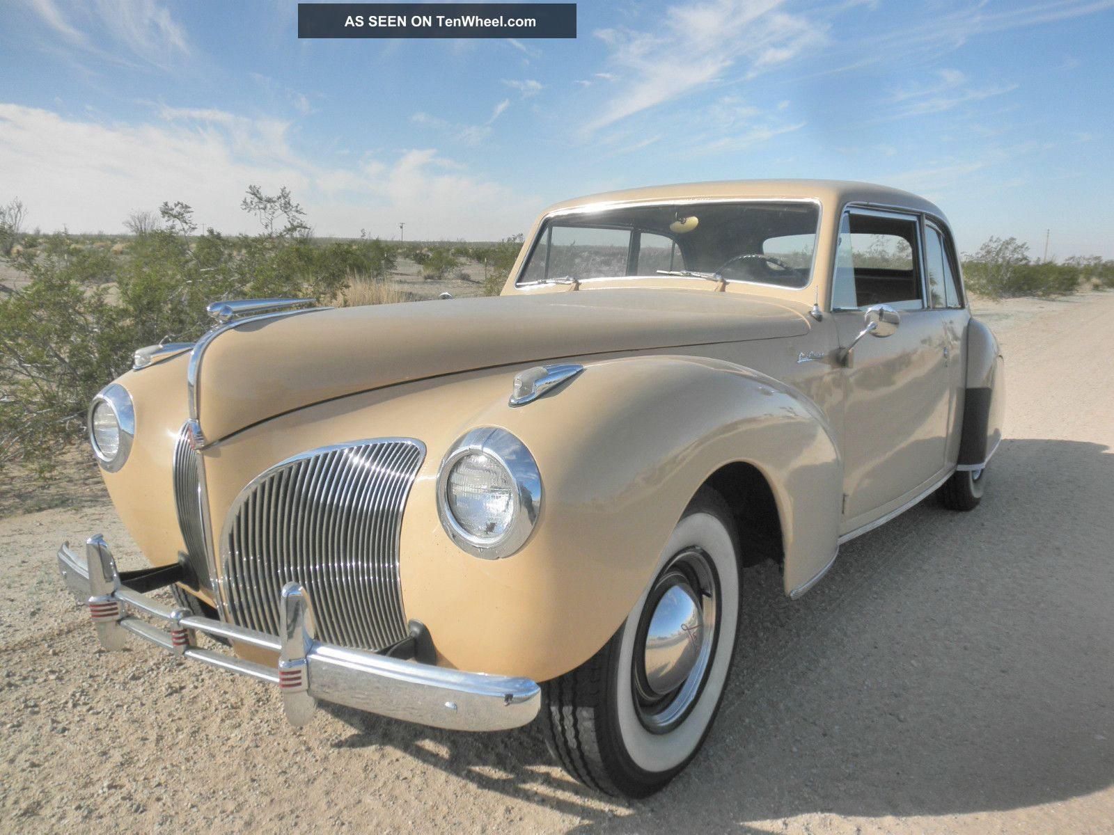 1941 Lincoln Continental Coupe Continental photo
