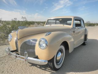 1941 Lincoln Continental Coupe photo