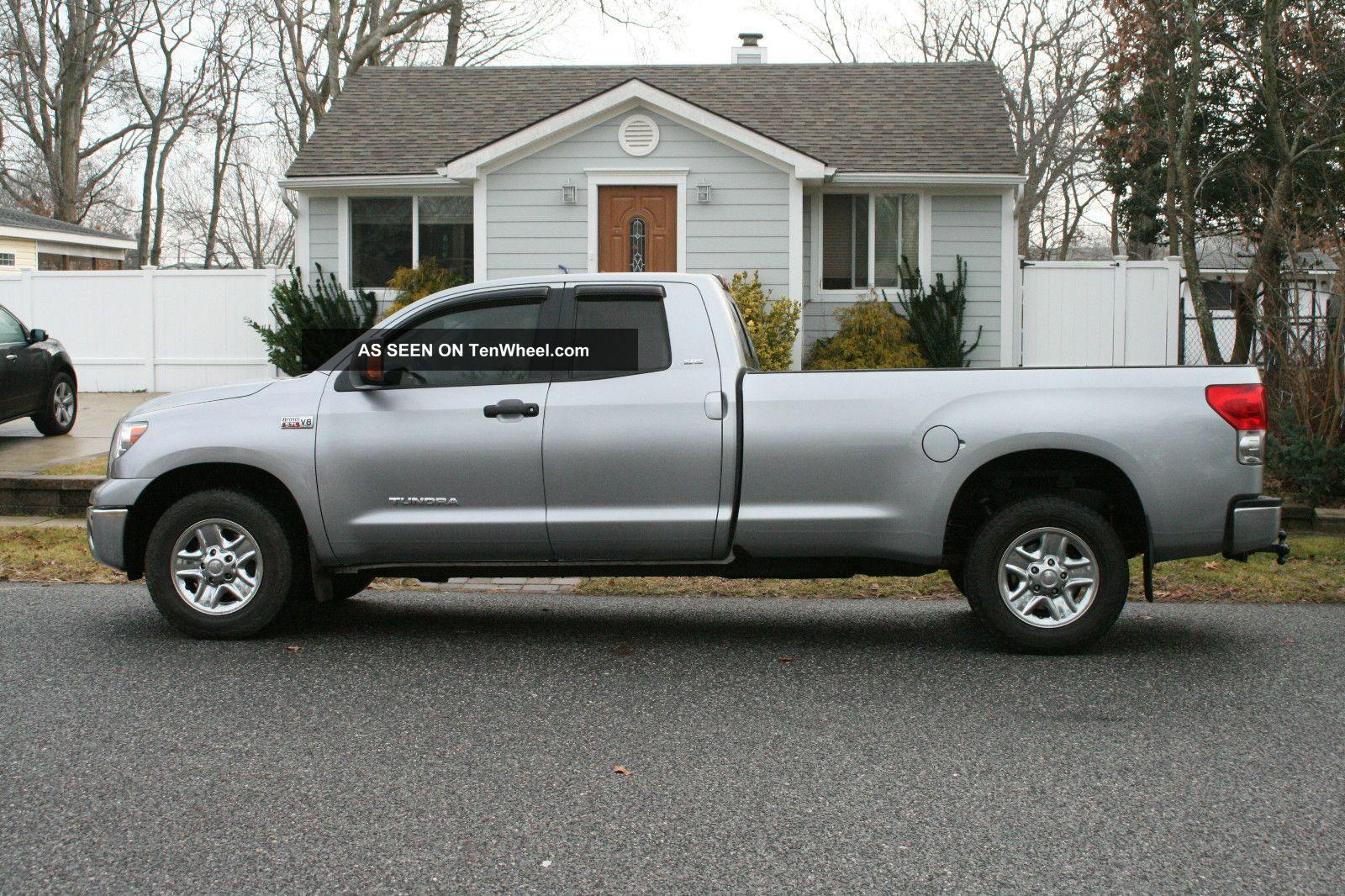 2007 toyota tundra sr5 loaded crew cab pickup 4 door 5 7l 8 39 long bed. Black Bedroom Furniture Sets. Home Design Ideas