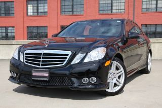 2010 Mercedes Benz E350 Amg Sport Package 27.  6k Mi Well Equiped photo