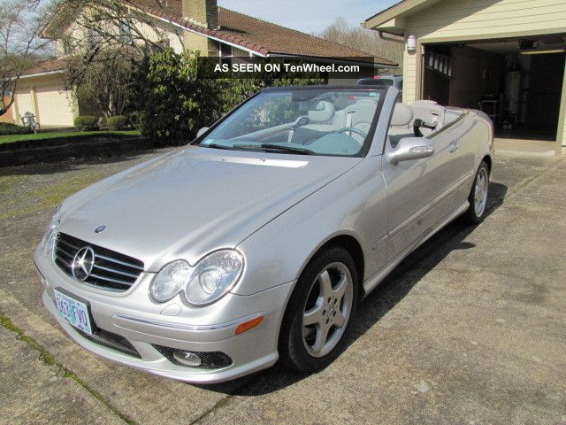 2004 mercedes benz clk500 cabriolet for 2004 mercedes benz clk 500