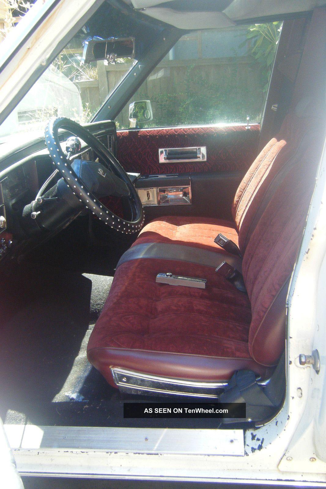 1979 Cadillac Fleetwood Base Sedan 4   Door 7. 0l Fleetwood Photo 2 1066 X