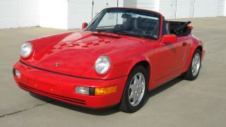1991 Porsche 911 Carrera 2 Convertible 2 - Door 3.  6l photo