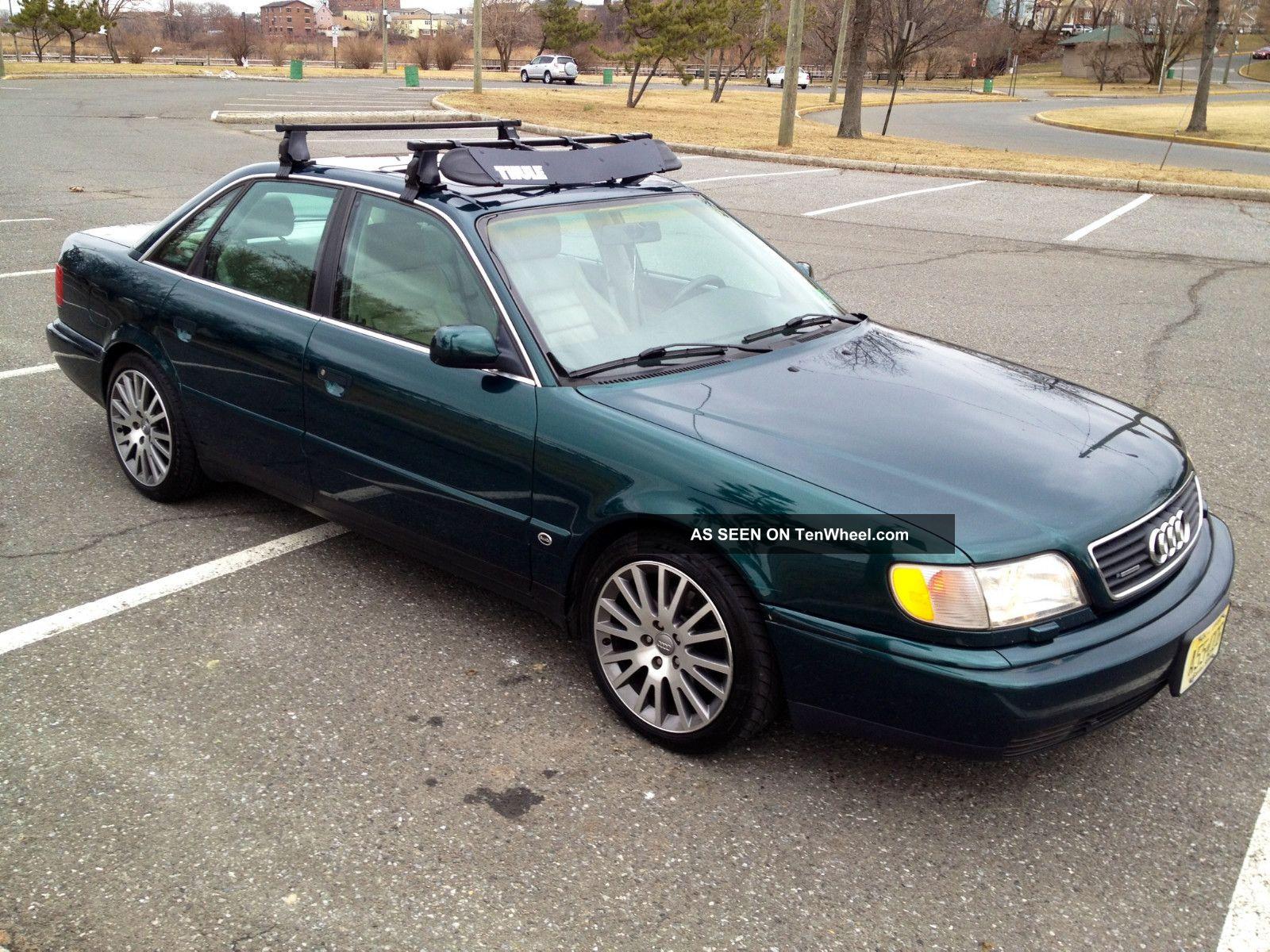 1996 Audi A6 Quattro V6 Automatic Green With Tan Interior
