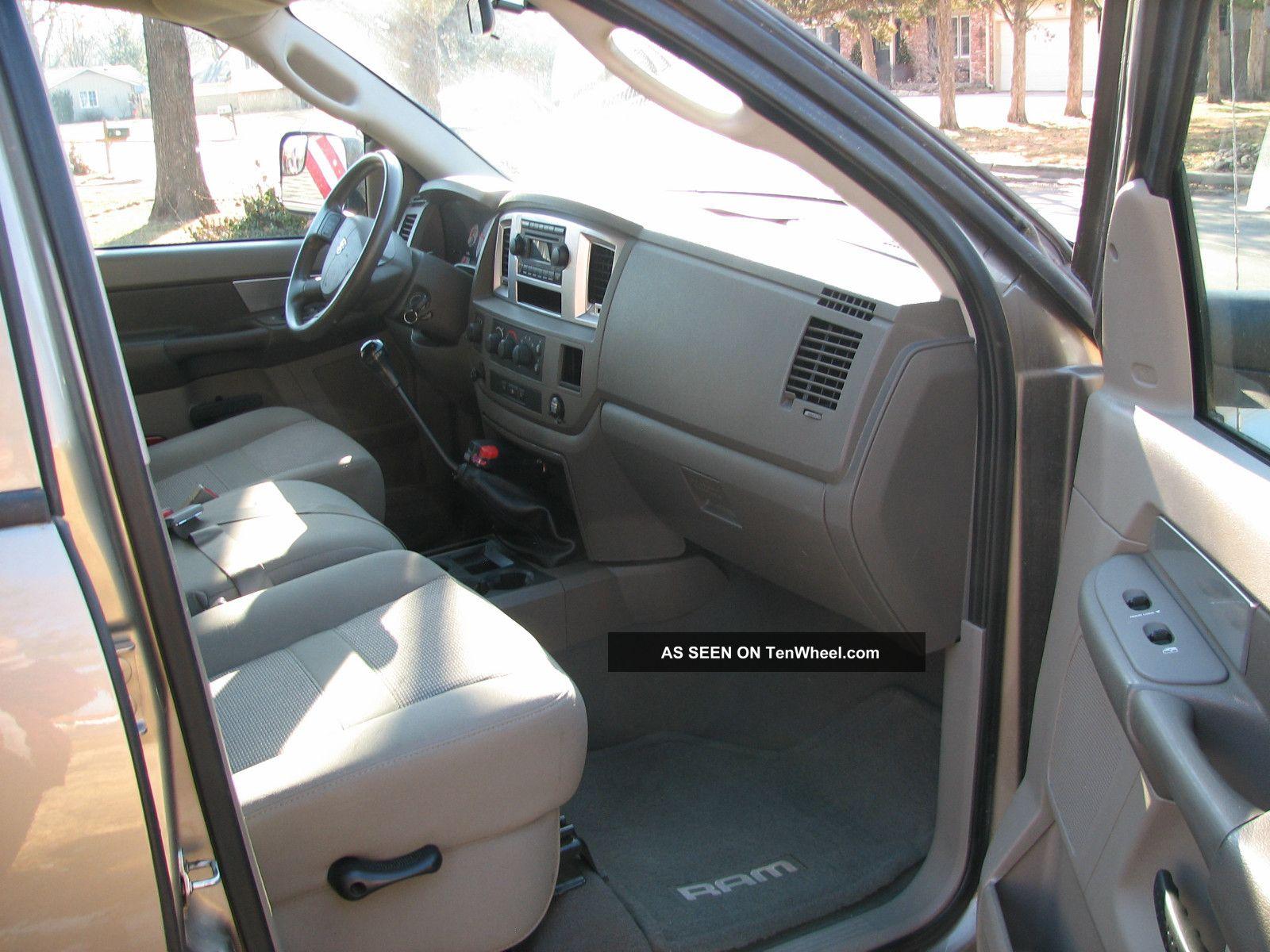 2008 Dodge Ram 2500 Sxt Mega Crew Cab Pickup 4 Door 6