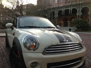 Mini Cooper Roadster 2013 Peper White Seats photo