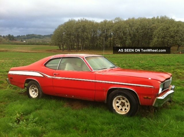 1974 Plymouth Duster Base Coupe 2 - Door 3.  7l Duster photo