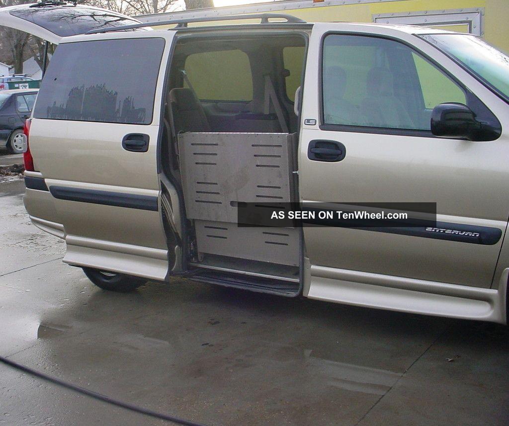 2005 Chevrolet Venture Passenger Camshaft: 2005 Chevrolet Venture Ls Wheelchair Handicap Van Braun
