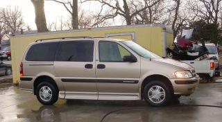 2005 Chevrolet Venture Ls Wheelchair Handicap Van Braun Entervan 11,  800 Mi. photo