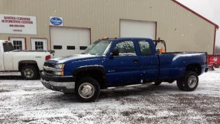 2003 Chevrolet Silverodo 3500 6.  0 Vortech Dually Dual Wheels photo