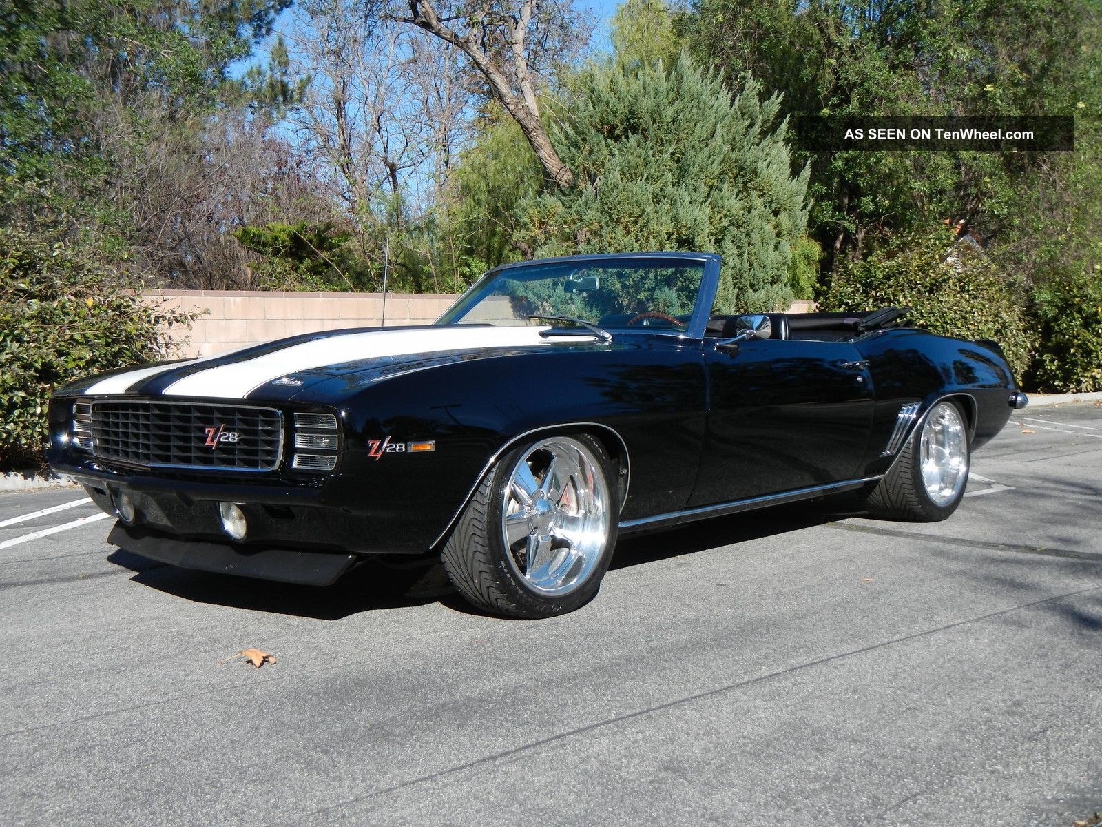 1969 chevrolet camaro convertible pro touring convertible. Black Bedroom Furniture Sets. Home Design Ideas