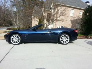 2012 Maserati Granturismo Base Convertible 2 - Door 4.  7l photo