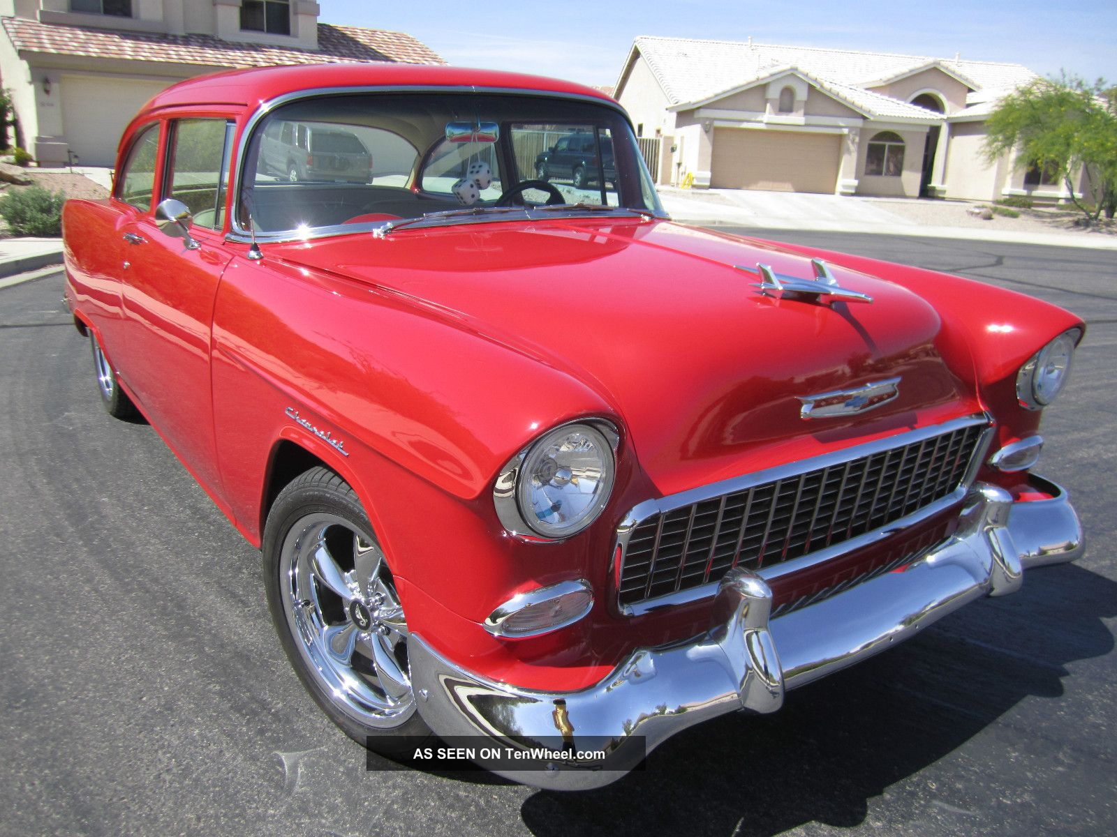 Head Turning 1955 Chevy 210 2dr Post Resto Mod Bel Air/150/210 photo