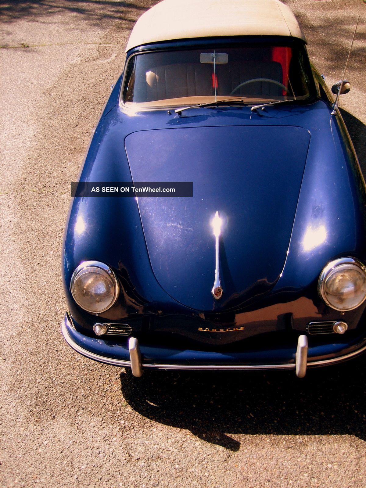 Porsche : 356a 1958 1600s Porsche Cabriolet 356 photo