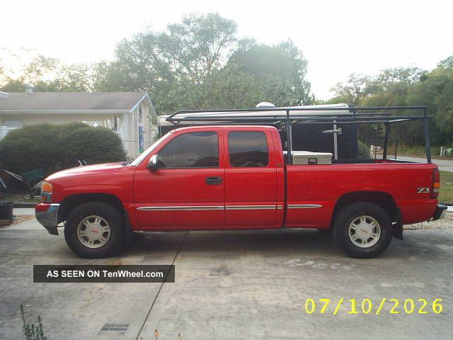 2000 gmc sierra 1500 sle 4x4 extended cab z71. Black Bedroom Furniture Sets. Home Design Ideas