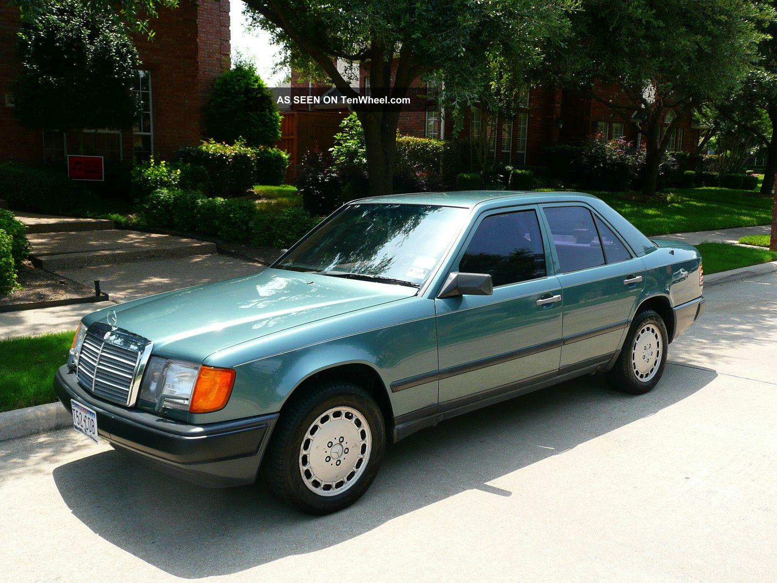 1986 mercedes benz 300 series 4 door 5 passenger sedan for Mercedes benz 1986