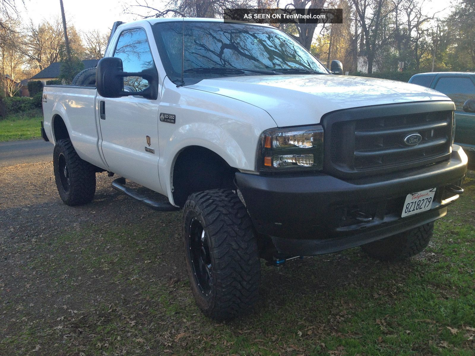 Custom Lifted Ford F