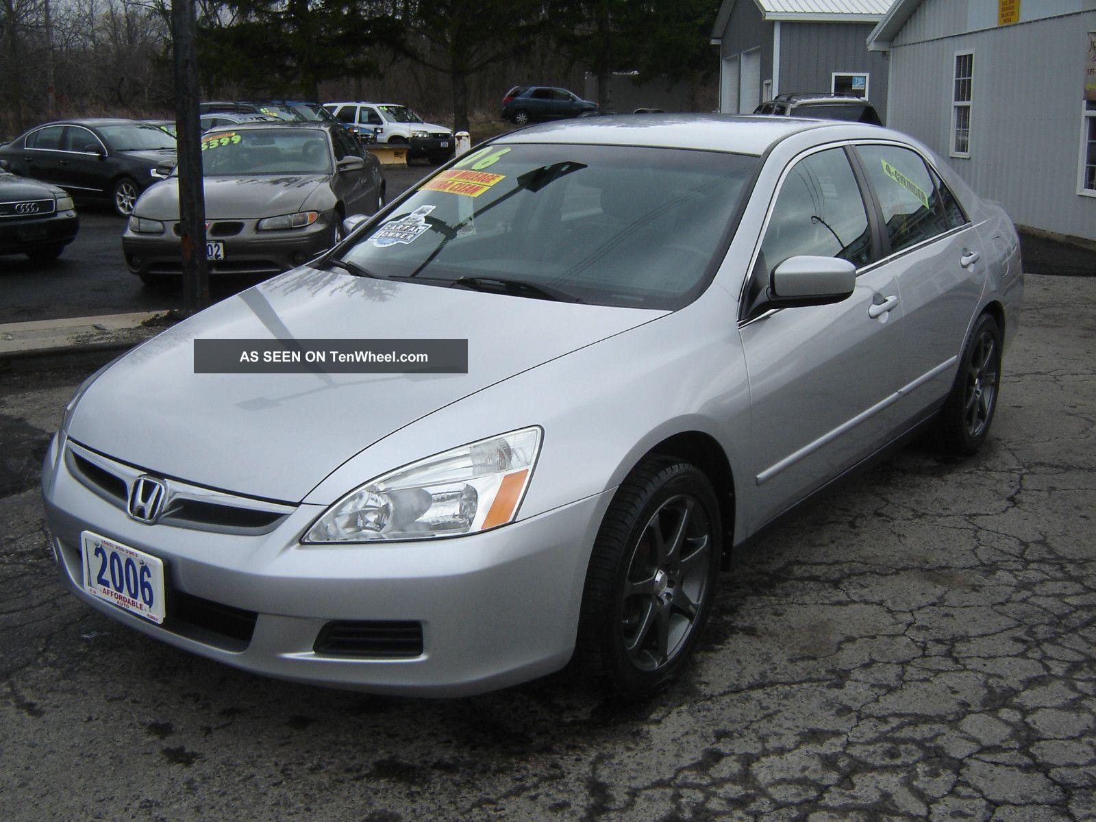 2006 Honda Accord Lx Sedan 4 Door 2 4l