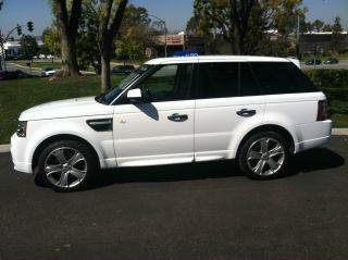 2011 Range Rover Sport Gt Limited Edition 33k Fuji White Full photo