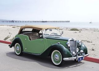 1948 Mg Yt Tourer:,  Rare & Charming Yt That Is Wonderfully Presented photo