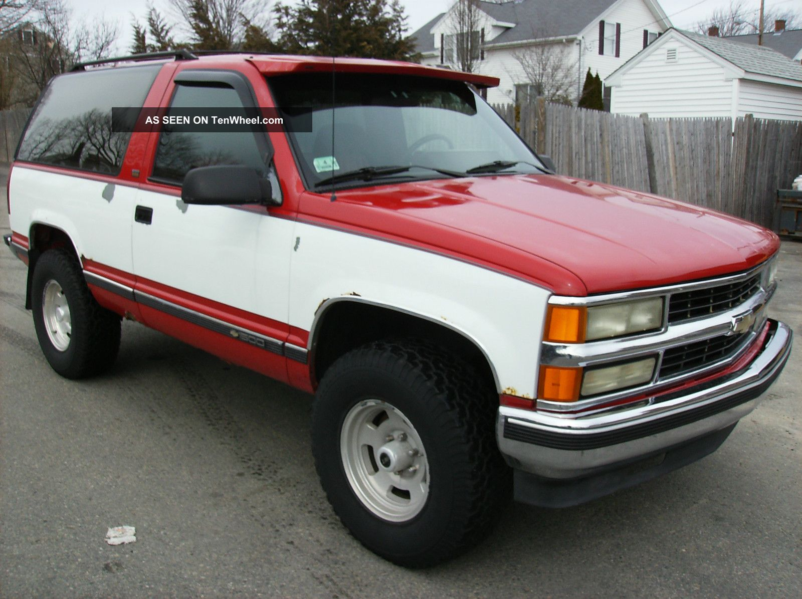 1994 chevrolet blazer silverado sport sport utility 2 door 5 7l. Black Bedroom Furniture Sets. Home Design Ideas