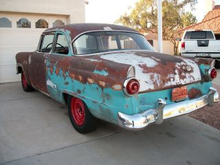 1955 Ford Customline 2 Door Post photo