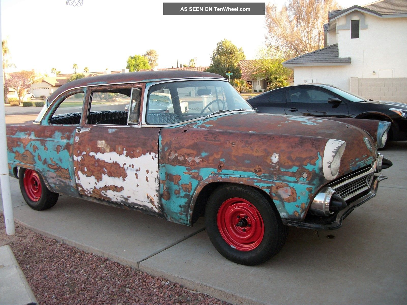 1955 ford customline 2 door post for 1955 ford 2 door