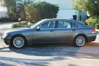 2004 Bmw 745il Loaded With Almost All Options Plus K40 Built In photo