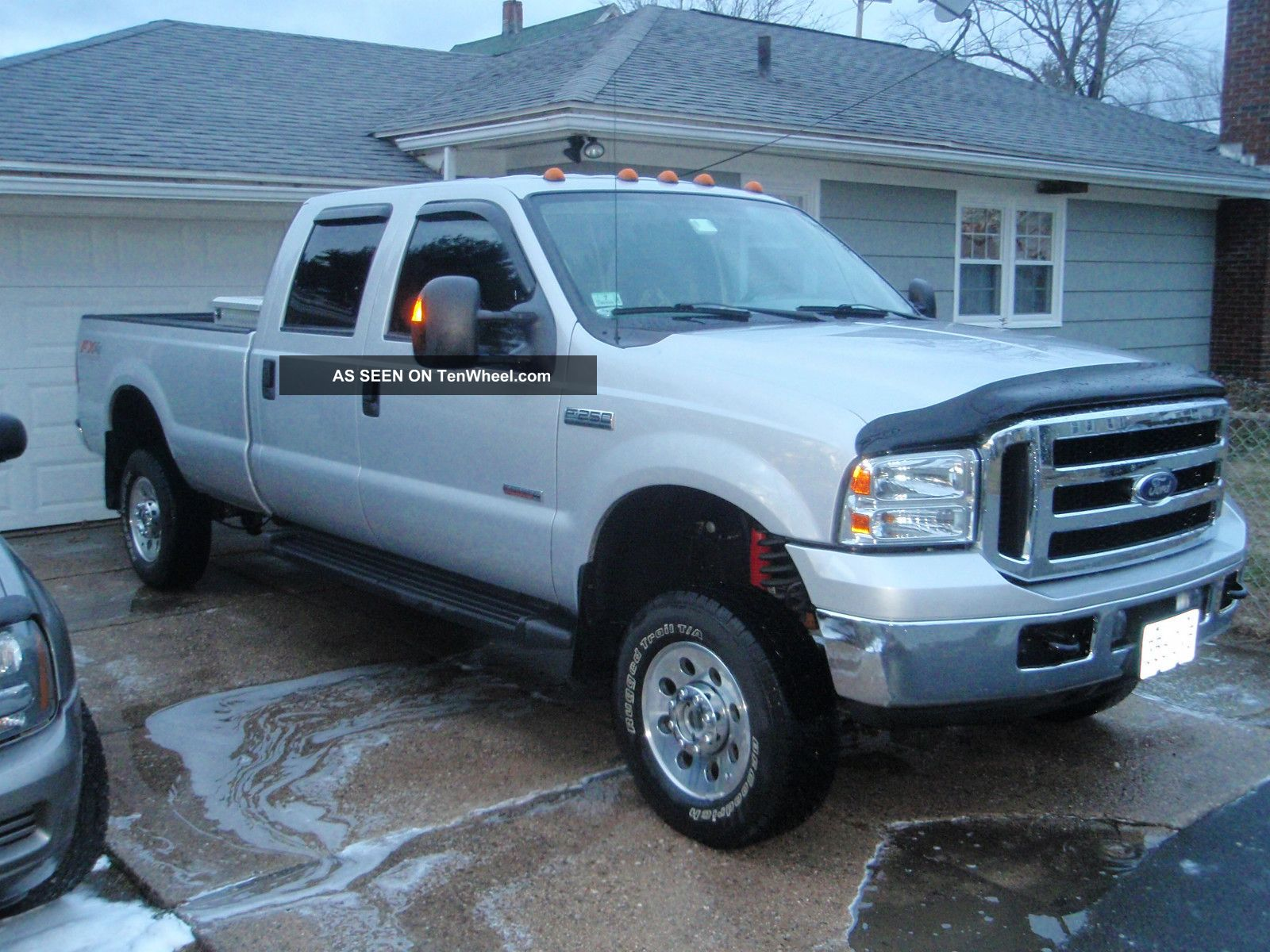 2007 ford f 250 xlt crew cab fx4 6 0l diesel 4 door. Black Bedroom Furniture Sets. Home Design Ideas