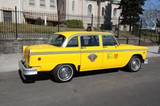 1981 Checker Taxicab photo