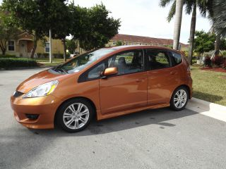 2010 Honda Fit Sport Hatchback Only 19.  500 Milles Condition photo